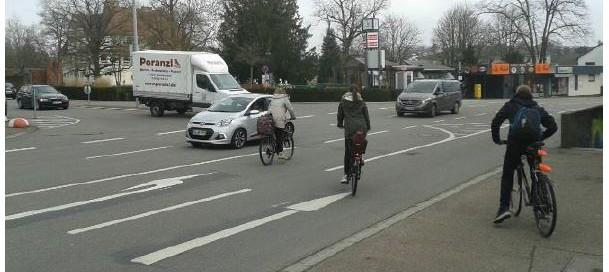 Radfahrer Schiller Heidelberger