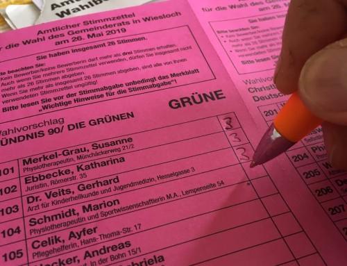 Wählen ist nicht schwer sondern lustig!