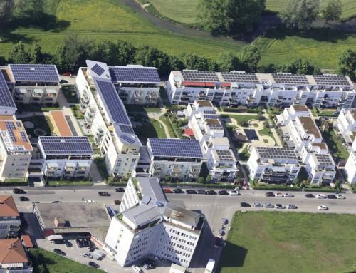 """""""PlusEnergie Siedlung"""" auf dem Wellpappe-Gelände"""